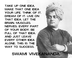 take up one idea that one idea your swami vivekananda
