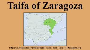 Zaragoza Spain Map by Taifa Of Zaragoza Youtube