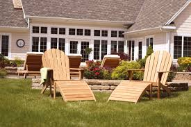 adirondack patio furniture sets furniture double unique teak adirondack chairs on green grass for