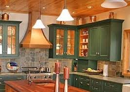 green kitchen cabinets with white island painted kitchen cabinets 14 reasons to transform yours
