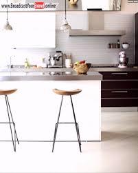 barhocker küche holz barhocker kleine weiße küche