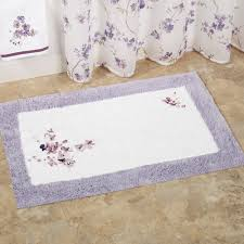bathroom breathtaking white and purple bath mats square models