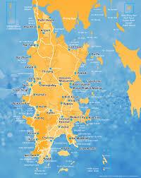 Phuket Map Phuket Activities The Villas Nai Harn Phuket