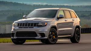 trackhawk jeep black 2018 jeep grand cherokee trackhawk first drive motor1 com photos