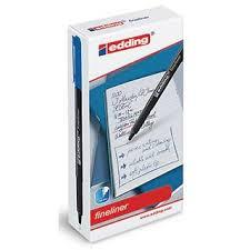 classmates pen classmates fineliner pen blue pack of 10 findel international