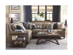 Bassett Sectional Sofa Bassett Harlan Sectional Sofa With 5 Seats Dunk Bright