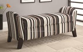 Fabric Bench For Bedroom Bedroom Storage Ottoman Bench Home Furnishings
