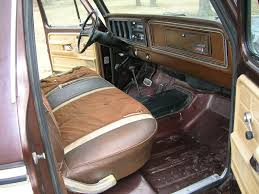 1979 Ford Truck Interior 1978 F150 Swb Lariat Brown And Tan