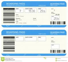 airline boarding pass tickets royalty free stock photo image