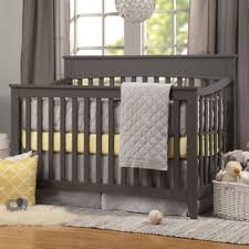 gray baby cribs you u0027ll love wayfair