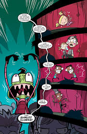 invader zim invader zim 10 comics by comixology