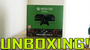 xbox one consoles and bundles xbox gears of war ultimate edition xbox one console bundle unboxing