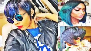 cropped bob haircuts u0026 hairstyles for african american women youtube