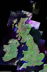 earth map uk united kingdom map and satellite image