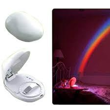 Night Light Kids Room by Led Rainbow Projector Room Night Light W 3 Display Mode Rainbow