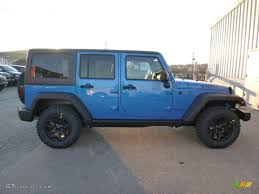 hydro blue jeep 2015 hydro blue pearl jeep wrangler unlimited willys wheeler 4x4