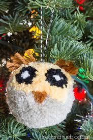 how to make a diy owl pom pom diycandy