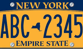 Make Your Own Vanity Plate Customized License Plates May Be Making A Comeback In New York
