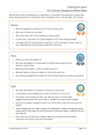 key stage 3 english poetry resources for reading and writing