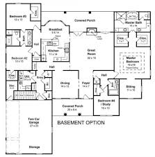 baby nursery house plan with basement basement house plans