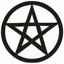 pentagram decal sticker anton lavey satan black metal witchcraft