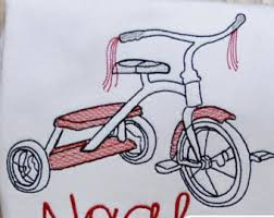 bicycle sketch embroidery design bike sketch embroidery design