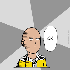 Unimpressed Meme - meme maker unimpressed one punch man generator