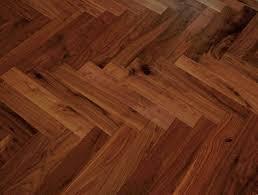 Laminate Flooring Falkirk Burnbury Herringbone Engineered American Black Walnut Lacquered