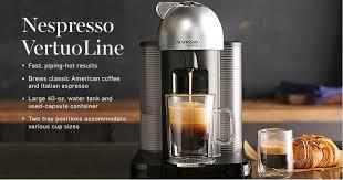 nespresso machine target black friday 2016 nespresso machines u0026 accessories williams sonoma
