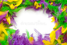 mardi gras feathers mardi gras feather frame stock image image of purple 22701555