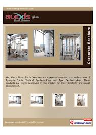 alexis green earth solutions jaipur pyrolysis plant u0026 machinery