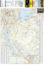 Adventure Map Tanzania Rwanda And Burundi National Geographic Adventure Map