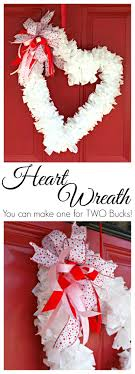 valentines wreaths 2 wreath made with trash bags from 3 greenwoods