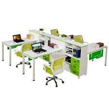 4 seat office computer desk wholesale 4 seat office computer desk