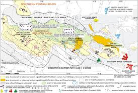 Permian Basin Map Late Permian Aeolian Sand Seas From The Polish Upper Rotliegend