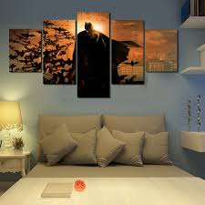 home decor wall posters 5pcs batman movie poster unframed wall art canvas painting home