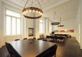 captivating conference room with modern drop ceiling combined