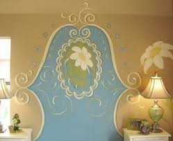 Paint A Headboard by Paint A Headboard On The Wall Design Dazzle