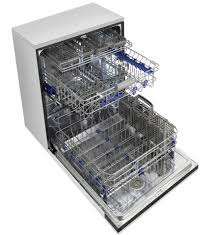 Stainless Steel Lg Dishwasher Lg Fully Integrated Dishwasher With Height Adjustable 3rd Rack
