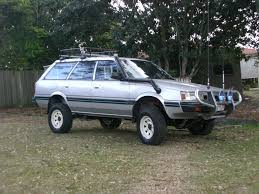 subaru justy lifted cc outtake 1992 subaru loyale ready for the flood