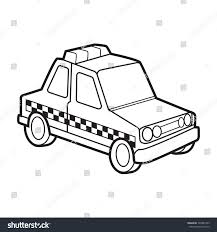 cartoon jeep front cute police car vector cartoon stock vector 748981333 shutterstock