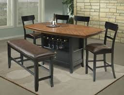 dining table dining room table with wine rack kitchen table with