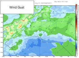 Rowan Map Tuesday Weather Update Rain And Wind Will Start To Diminish As We