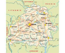 map of belarus maps of the belarus detailed map of the belarus in and