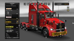 kenworth t800 truck kenworth t800 for patch 1 21 ets2 mods