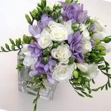 How To Make Wedding Bouquet Wedding Bouquet Of Freesia