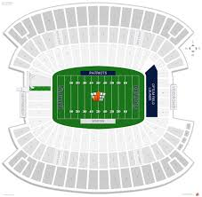 Metlife Stadium Map Gillette Stadium Seating Chart Seat Numbers Image Gallery Hcpr