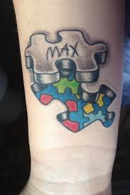 10 tattoo ideas for kids names for men 40 cool puzzle piece