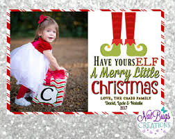 funny photo christmas cards etsy