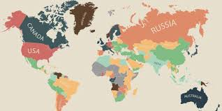 Map Of The World Countries Here Are The Most Expensive Countries In The World To Live In